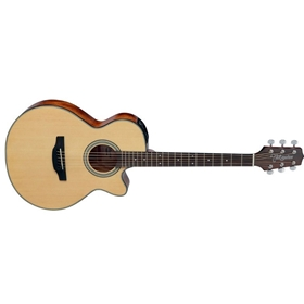 Takamine FXC Acoustic Guitar | Spruce Top, Nat. Gloss, Mahogany Back&Sides