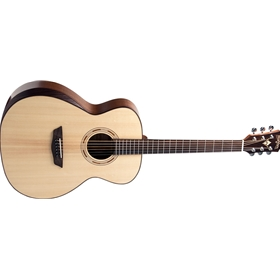 Washburn 6-string Acoustic-electric Guitar with Sitka Spruce Top, Mahogany Back and Sides, Satin Nal